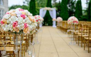 Znaczenie kwiatów na ślubie i weselu